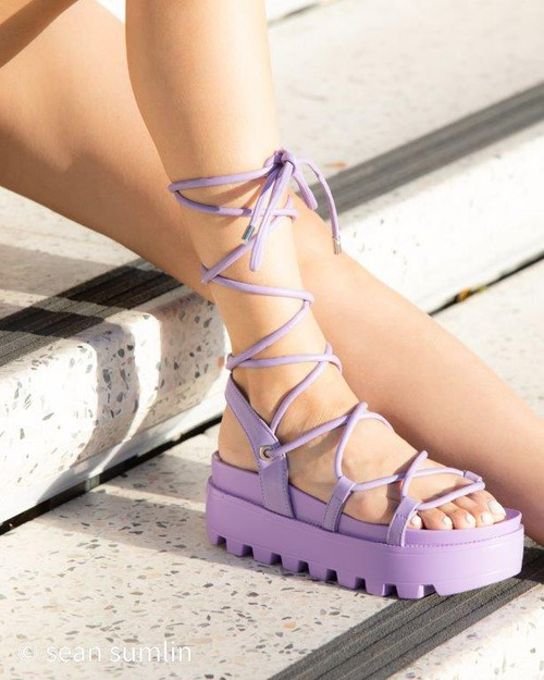 Wedge Espadrille Platform Sandals - orangeshine.com