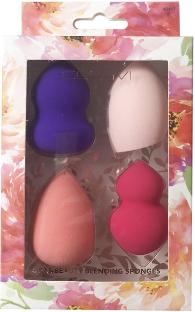 CELAVI 4 PCS BEAUTY BLENDING SPONGES - orangeshine.com