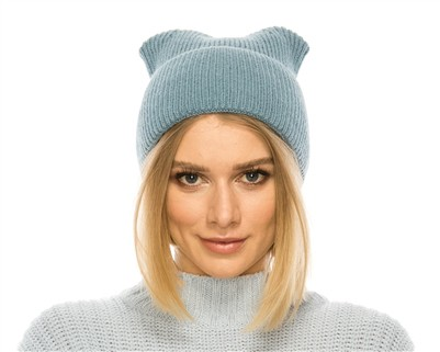 POINTY EAR KNIT BEANIE - orangeshine.com