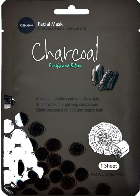 CELAVI FACIAL MASK CHARCOAL - orangeshine.com