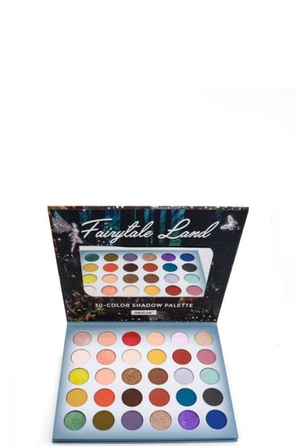 FAIRYTALE 30 COLOR SHADOW PALETTE - orangeshine.com
