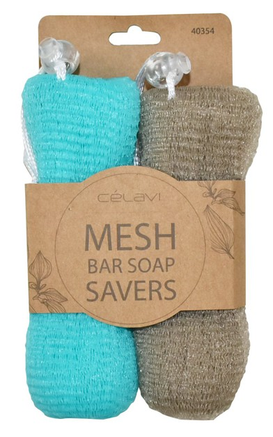 CELAVI MESH BAR SOAP SAVERS - orangeshine.com