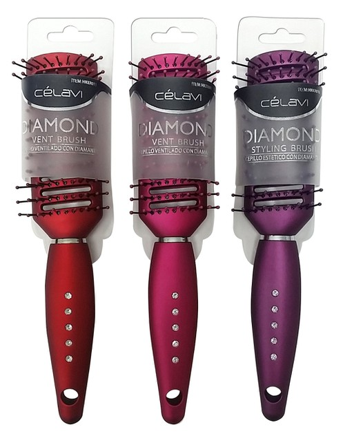 CELAVI DIAMOND VENT HAIR BRUSH - orangeshine.com