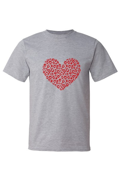 LEOPARD HEART SHIRT - orangeshine.com