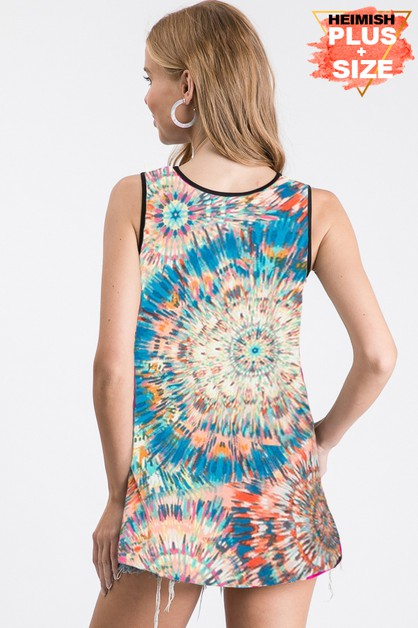 PLUS SOLID AND MULTI COLOR PRINT TOP - orangeshine.com