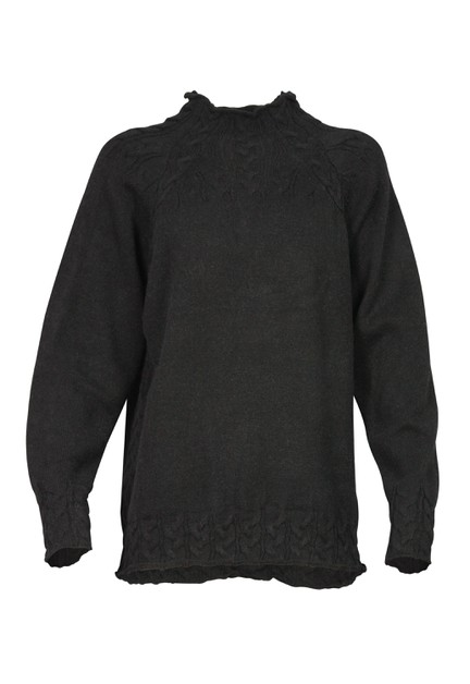 High Neck Sweater - orangeshine.com