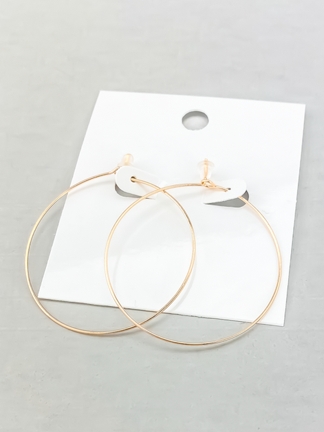 NEW Daily Delicate Hoops  - orangeshine.com