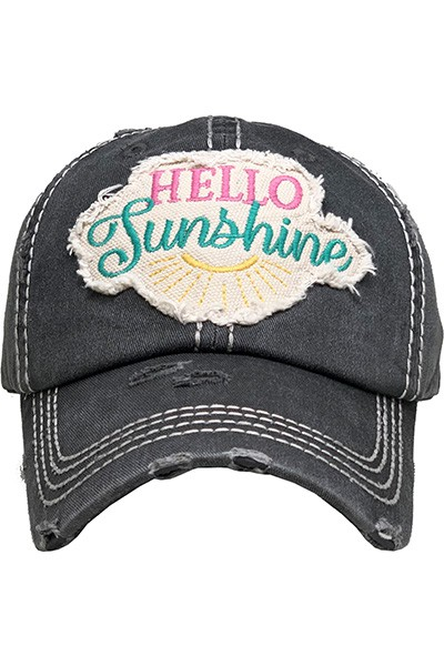 Hello Sunshine Hat - orangeshine.com