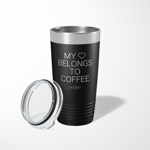 My Heart Belongs To Coffee - orangeshine.com