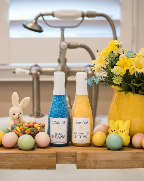 Spring Easter Bath Salts Sampler - orangeshine.com