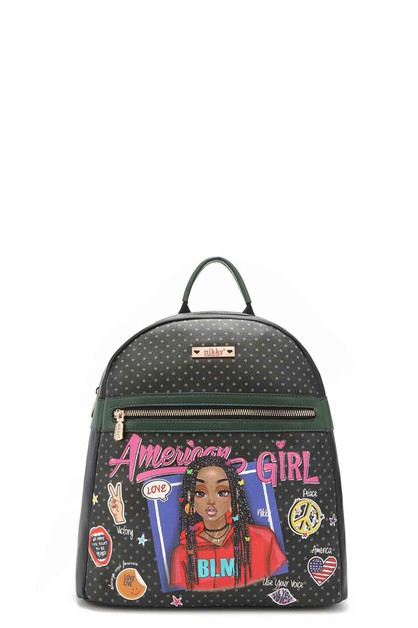 AMERICAN GIRL NIKKY BACKPACK - orangeshine.com