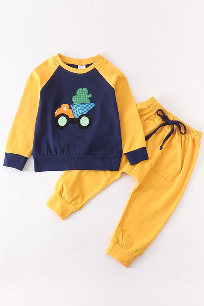 Clover truck 2 pcs boy set - orangeshine.com