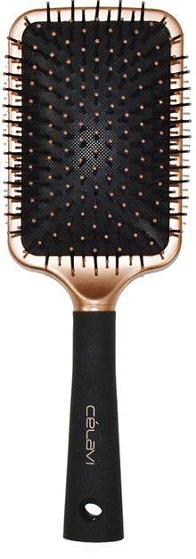 BRONZE PADDLE HAIR BRUSH - orangeshine.com