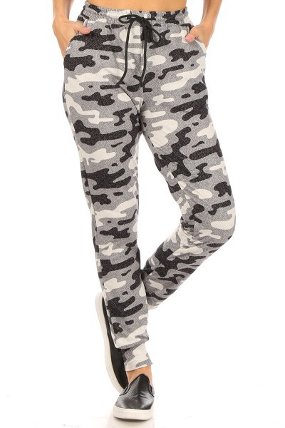 Army Camo Joggers Sweatpants - orangeshine.com