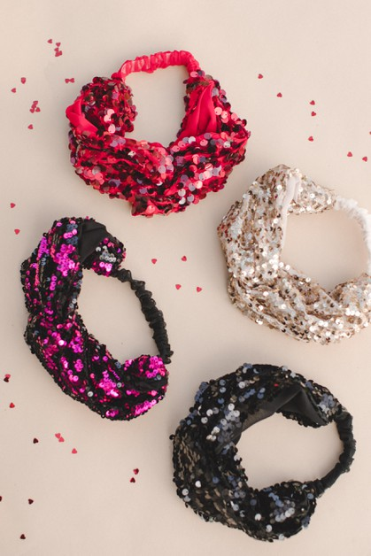 Sequin Headband - orangeshine.com