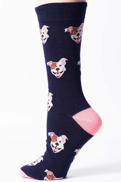 MENS PRINTED CREW SOCKS - orangeshine.com