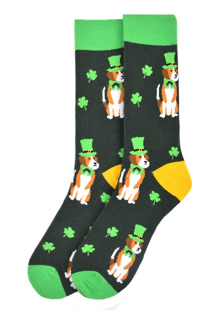 Mens St Patricks Day Novelty Socks - orangeshine.com