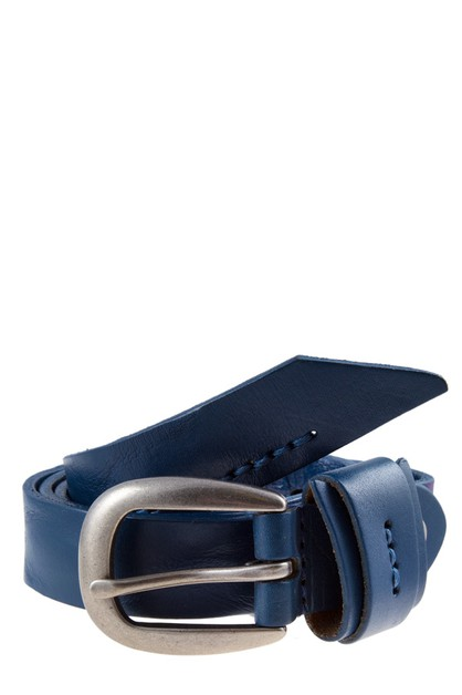 LEATHER BUCKLE BELT - orangeshine.com