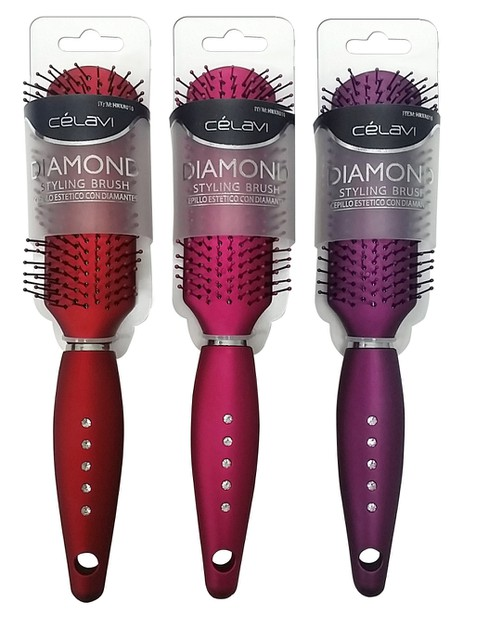CELAVI DIAMOND STYLING HAIR BRUSH - orangeshine.com