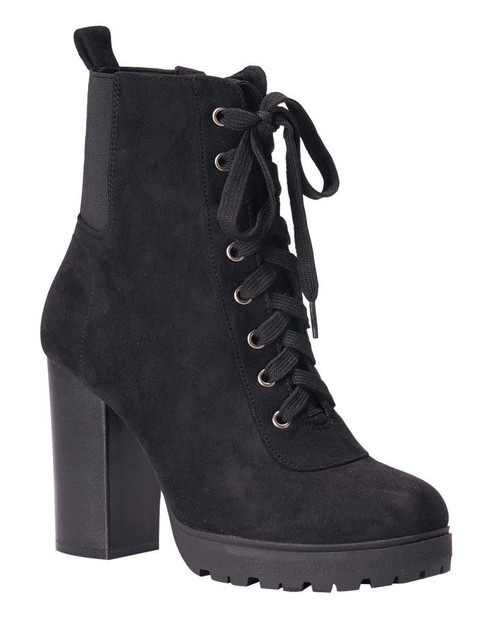 Buckled ankle strap booties - orangeshine.com
