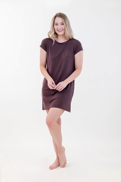 One Spirit Pocket Shirt Dress - orangeshine.com