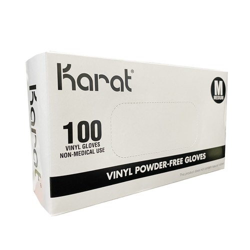 KARAT Vinyl Gloves Clear - orangeshine.com