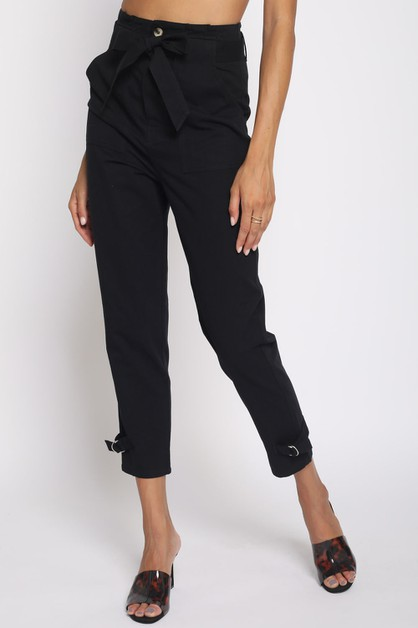 HIGH WAIST ADJUSTABLE PANTS - orangeshine.com