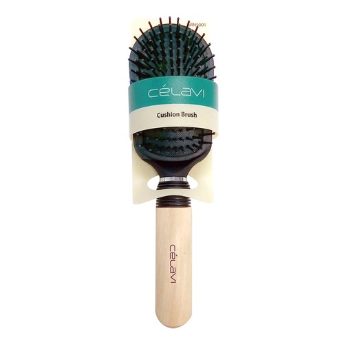CELAVI CUSHION HAIR BRUSH  - orangeshine.com