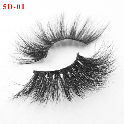 5D False Real Mink Fur Eyelashes - orangeshine.com