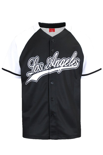 MEN LA BASEBALL JERSEY - orangeshine.com