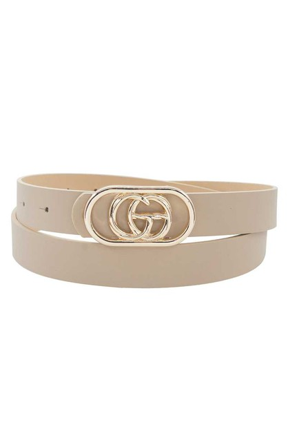 STYLISH MODERN BORDER LETTER BELT - orangeshine.com