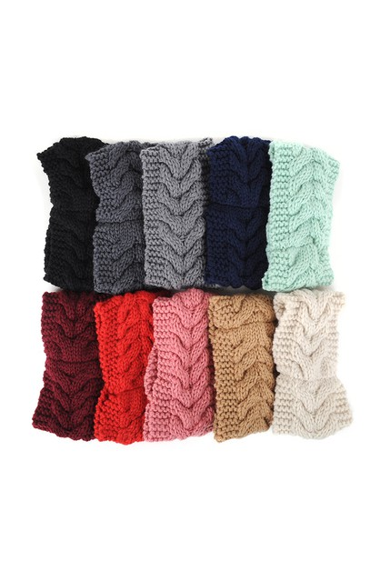 Assorted Color Women Winter Headband - orangeshine.com