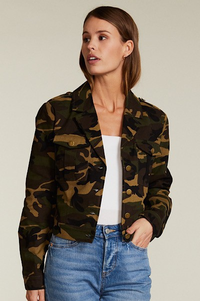 Camo jacket - orangeshine.com