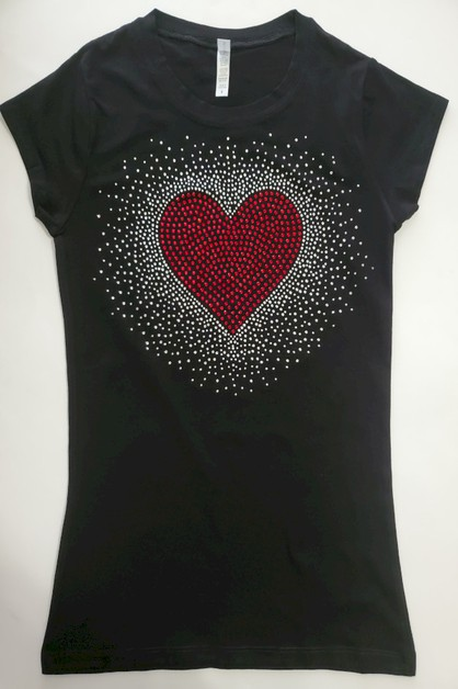RED HEART SHIRT - orangeshine.com