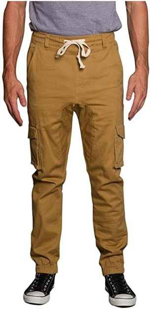 MEN JOGGER TWILL CARGO PANTS - orangeshine.com