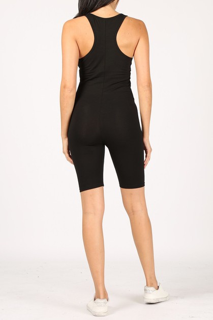 Cotton lycra romper  - orangeshine.com
