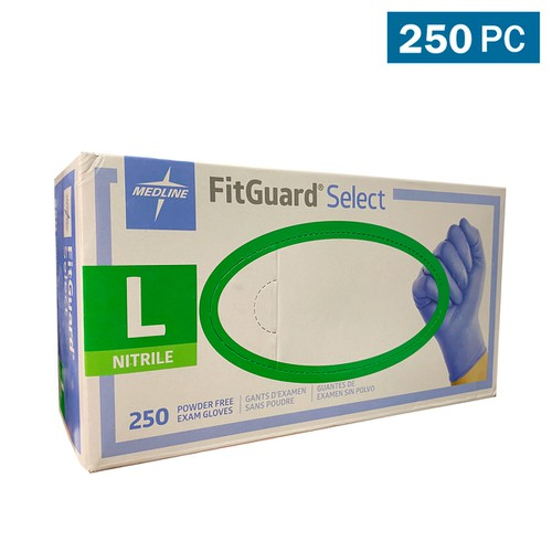 Medline FitGuard Exam Gloves - orangeshine.com