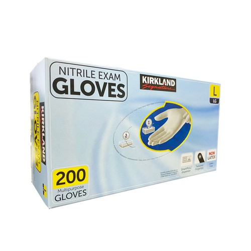 Kirkland Nitrile Exam Gloves - orangeshine.com
