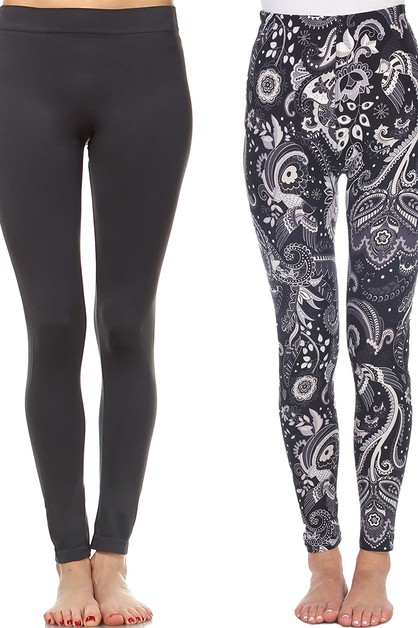 Pack of 2 Leggings - orangeshine.com
