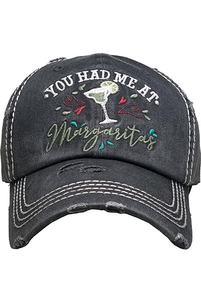 You Had Me At Margaritas Hat - orangeshine.com