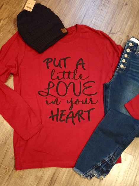 Put A Little Love In Your Heart - orangeshine.com