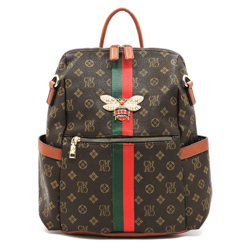 Monogram Queen Bee  Backpack - orangeshine.com