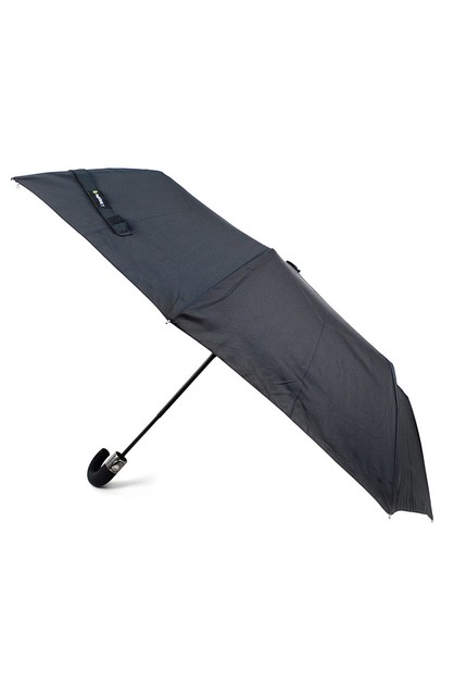 Black Compact Umbrella - orangeshine.com