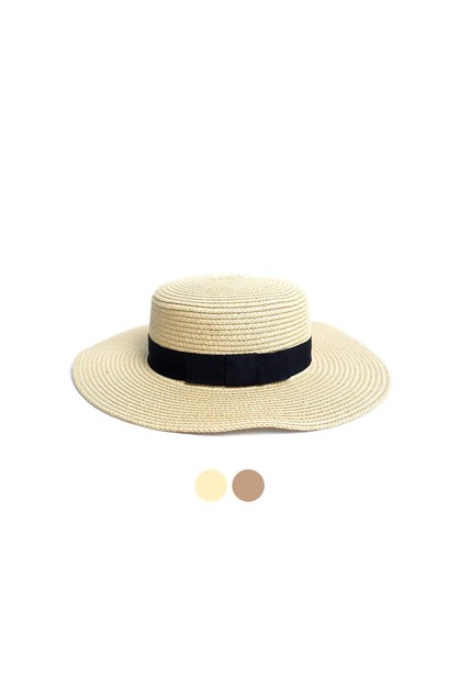 Flat Top Wide Brim Womens Hat - orangeshine.com