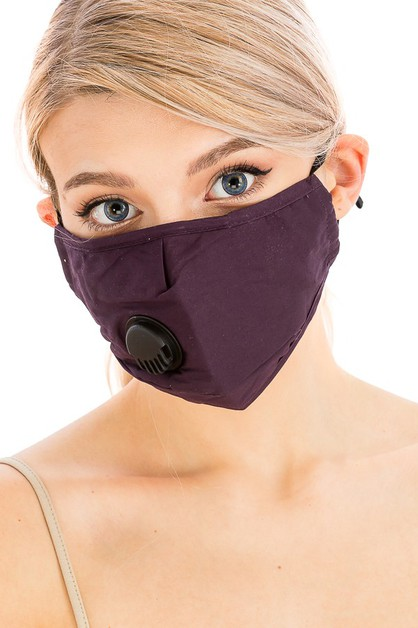 Mask with Breathable Valve - orangeshine.com