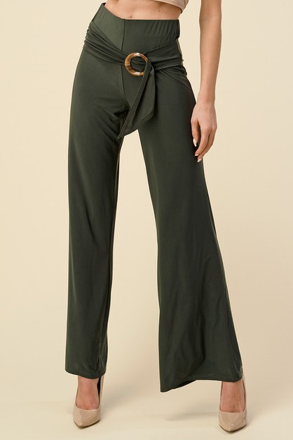 VENEZIA FABRIC PANTS SASH BELT - orangeshine.com