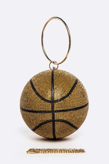 Large Basketball Pendant Clutch - orangeshine.com