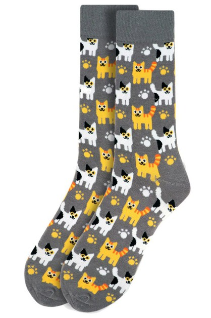 Mens Kittens Novelty Socks - orangeshine.com