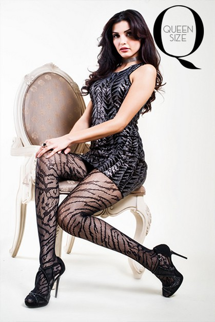 Wild Animal Ladies Fishnet Tights - orangeshine.com