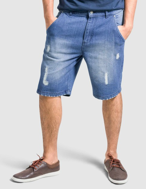 Mens Denim Shorts Slim Fit - orangeshine.com